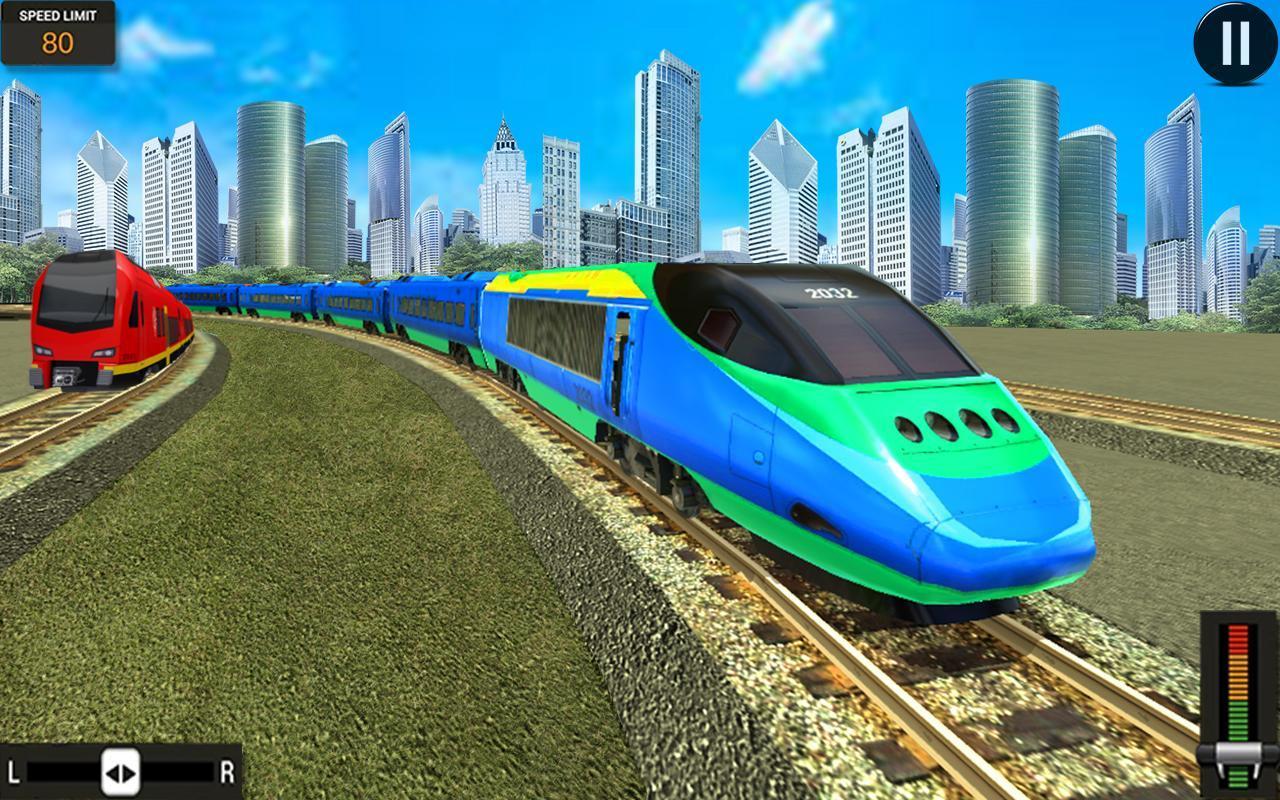 Modern Train Driving Simulator: City Train Games 2.6 Screenshot 3
