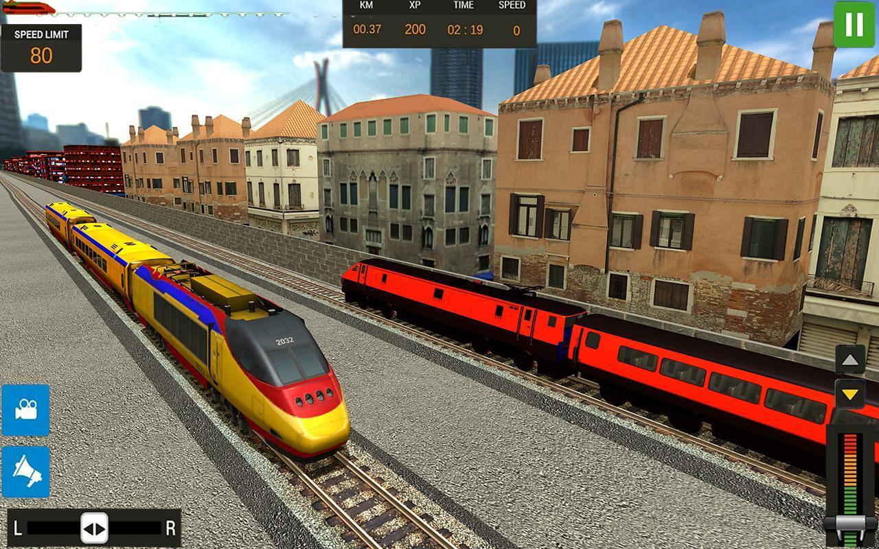 Modern Train Driving Simulator: City Train Games 2.6 Screenshot 4