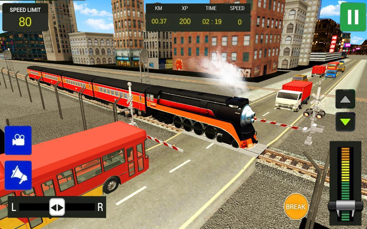 Modern Train Driving Simulator: City Train Games 2.6 Screenshot 5