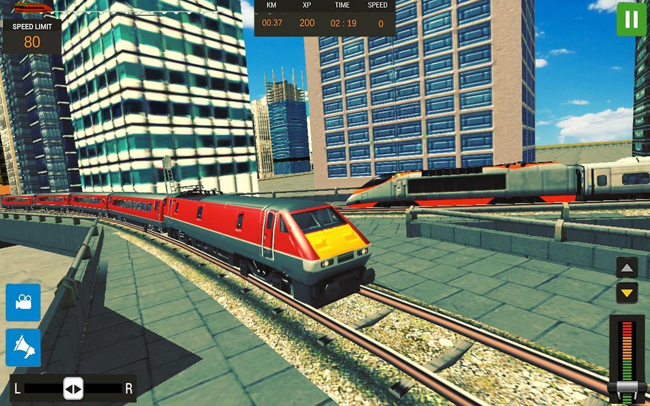 Modern Train Driving Simulator: City Train Games 2.6 Screenshot 6