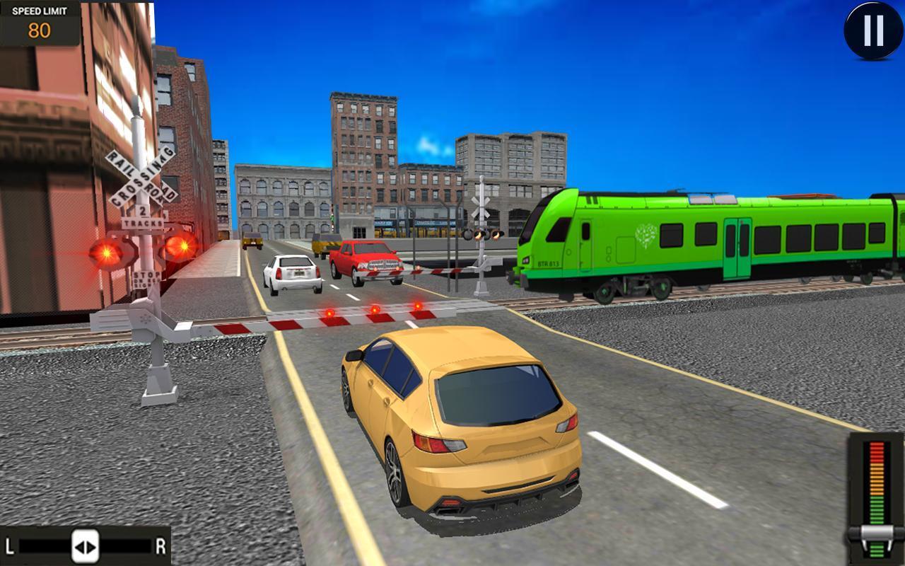 Modern Train Driving Simulator: City Train Games 2.6 Screenshot 7