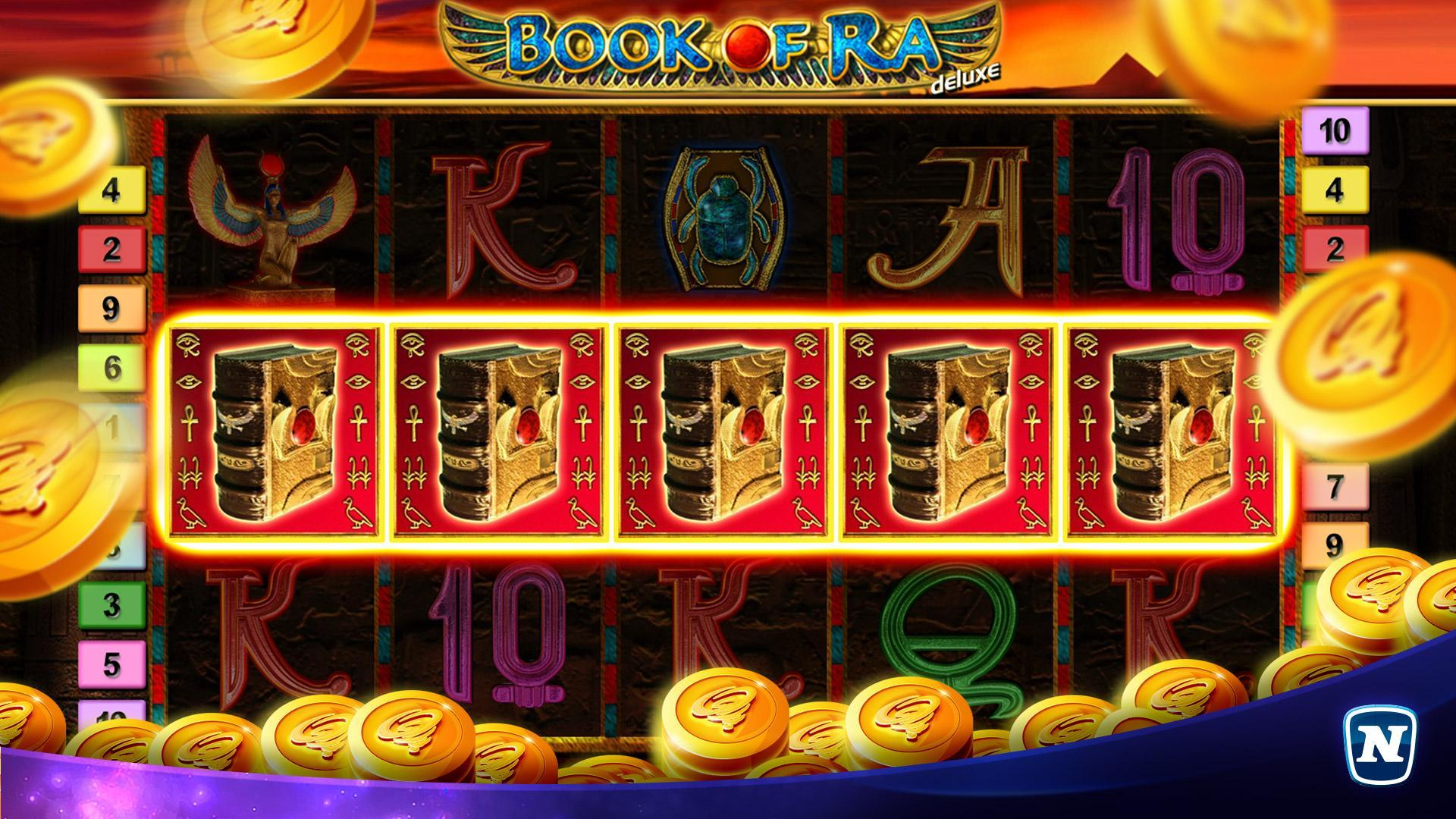 Book of Ra™ Deluxe Slot 5.24.0 Screenshot 1
