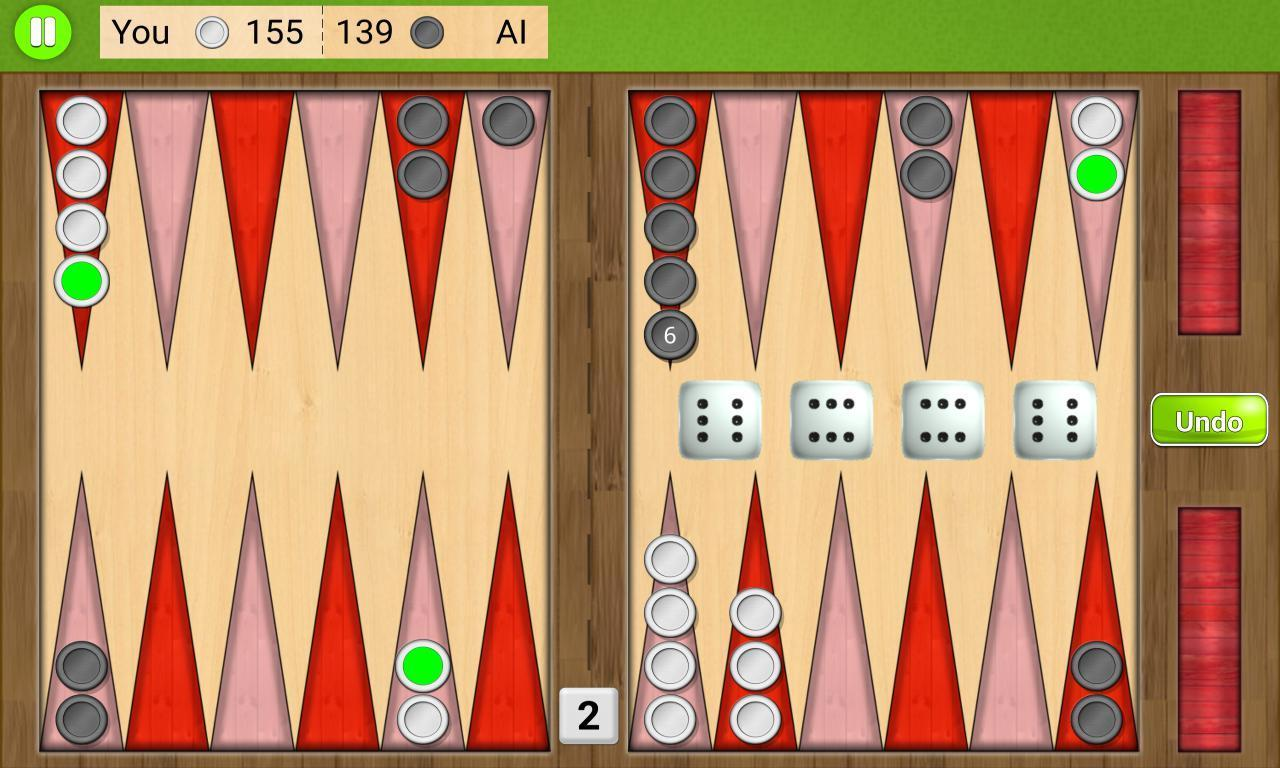 Backgammon Unlimited 1.1.8 Screenshot 2