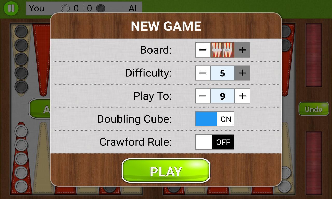 Backgammon Unlimited 1.1.8 Screenshot 5