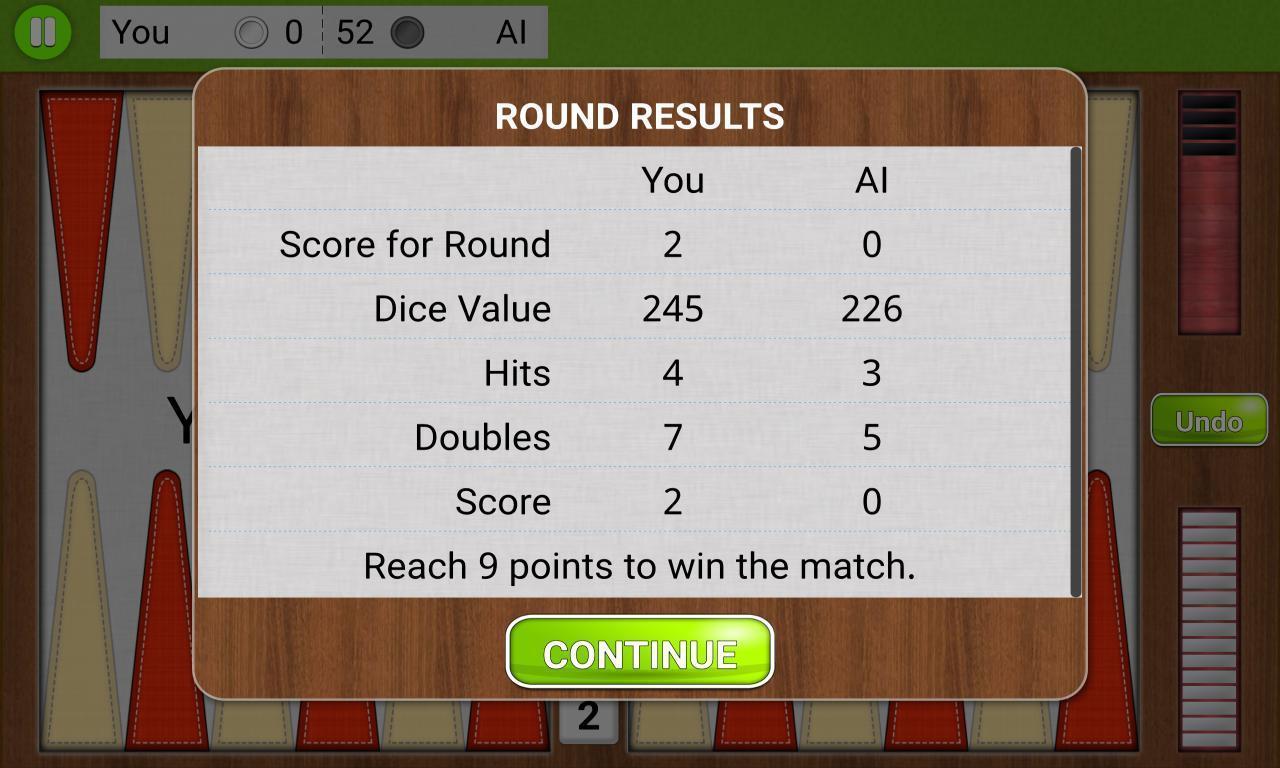 Backgammon Unlimited 1.1.8 Screenshot 7