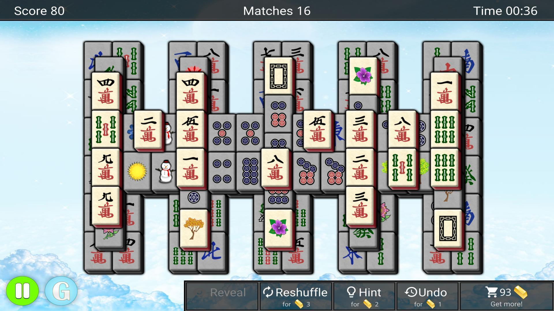 Mahjong 1.1.5 Screenshot 3