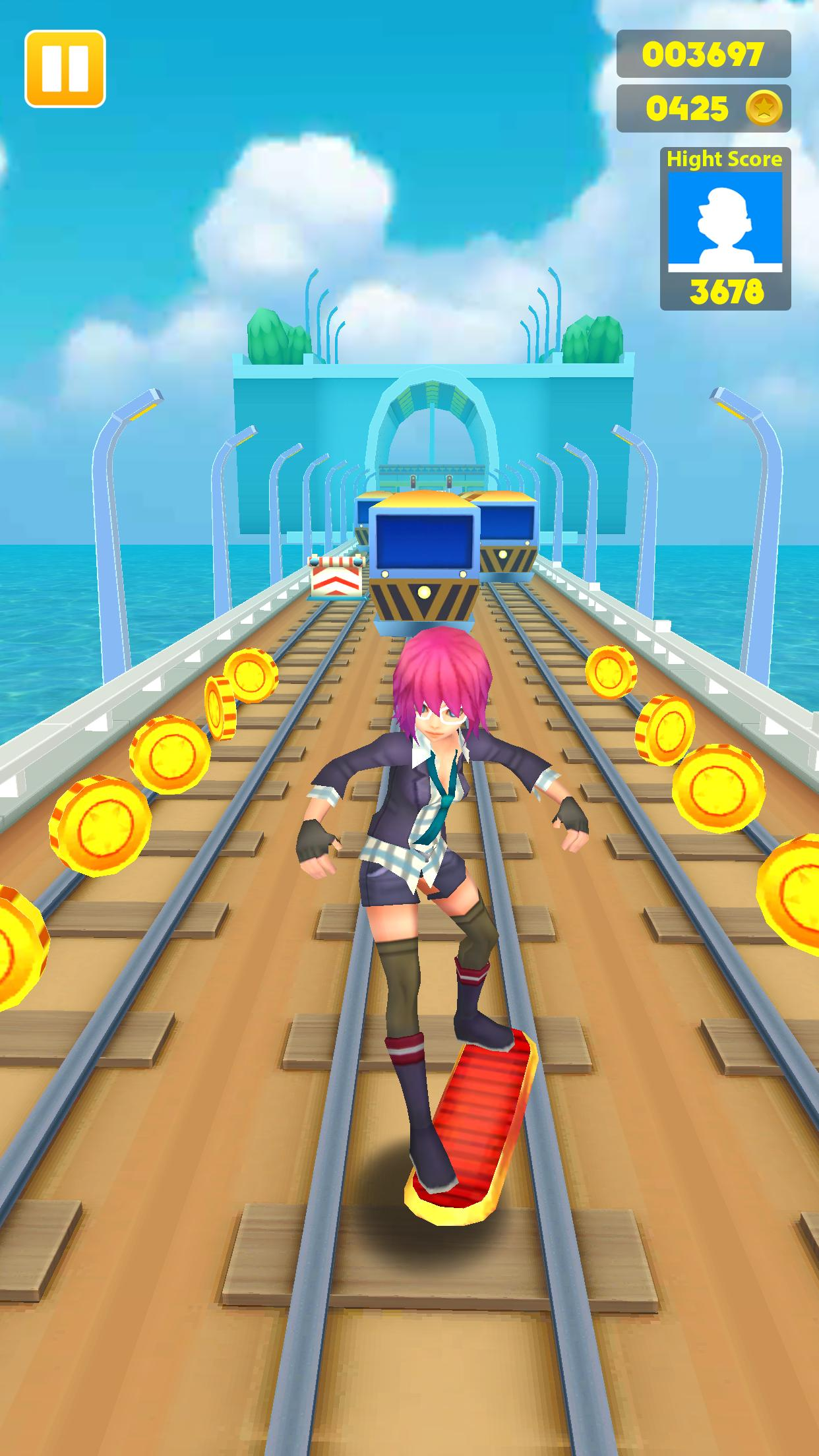 Subway Princess - Endless Run 14 Screenshot 4