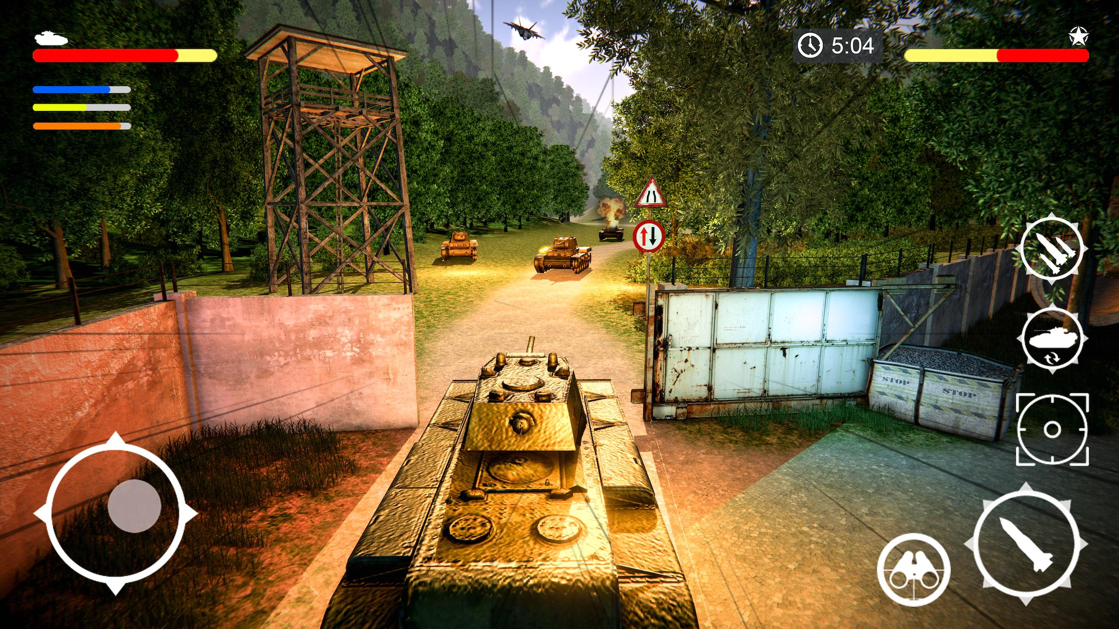 Tank Games 2020 Free Tank Battle Army Combat Games 1.3 Screenshot 1