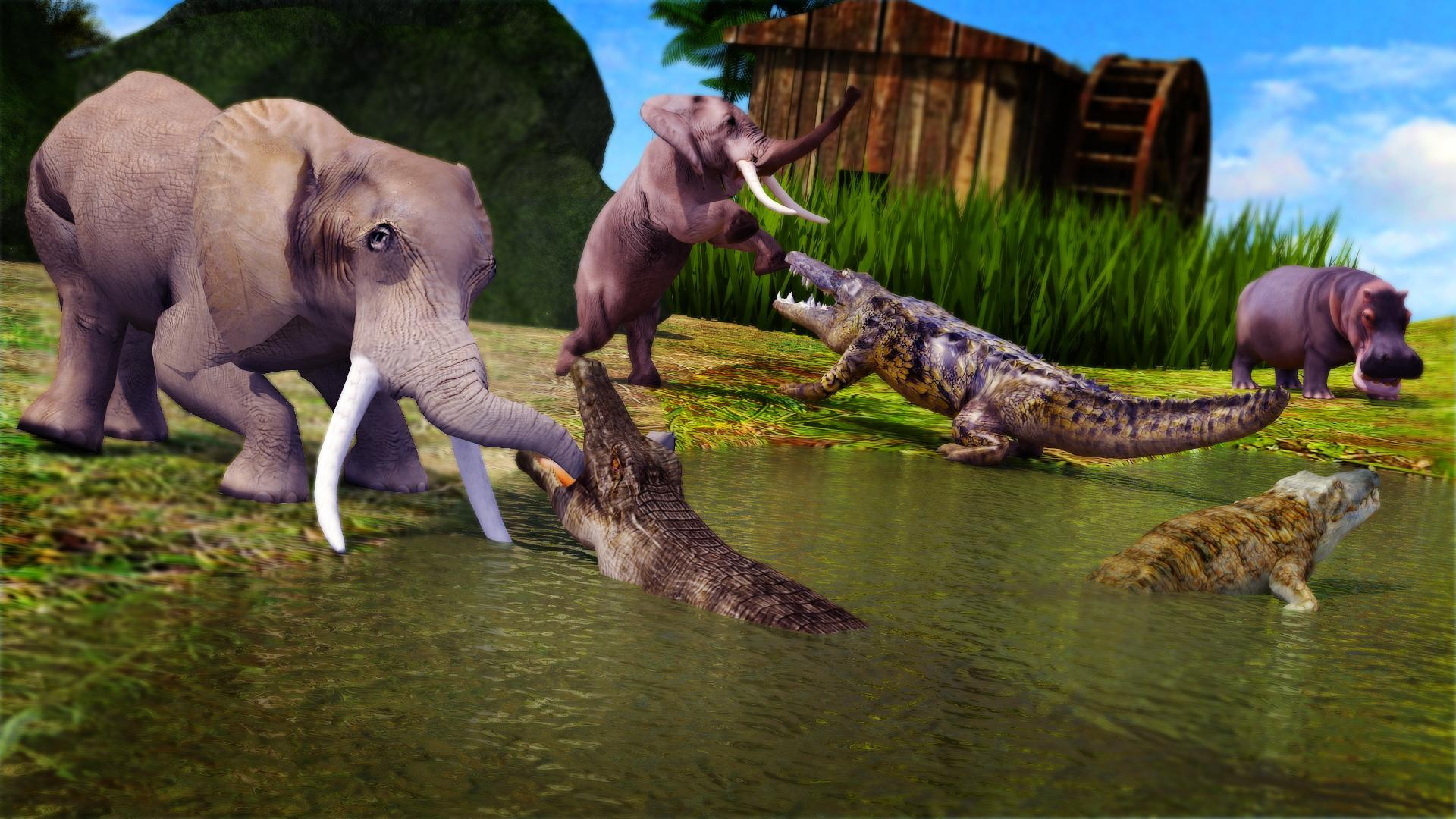 Animal Attack Simulator -Wild Hunting Games 1.0.37 Screenshot 4