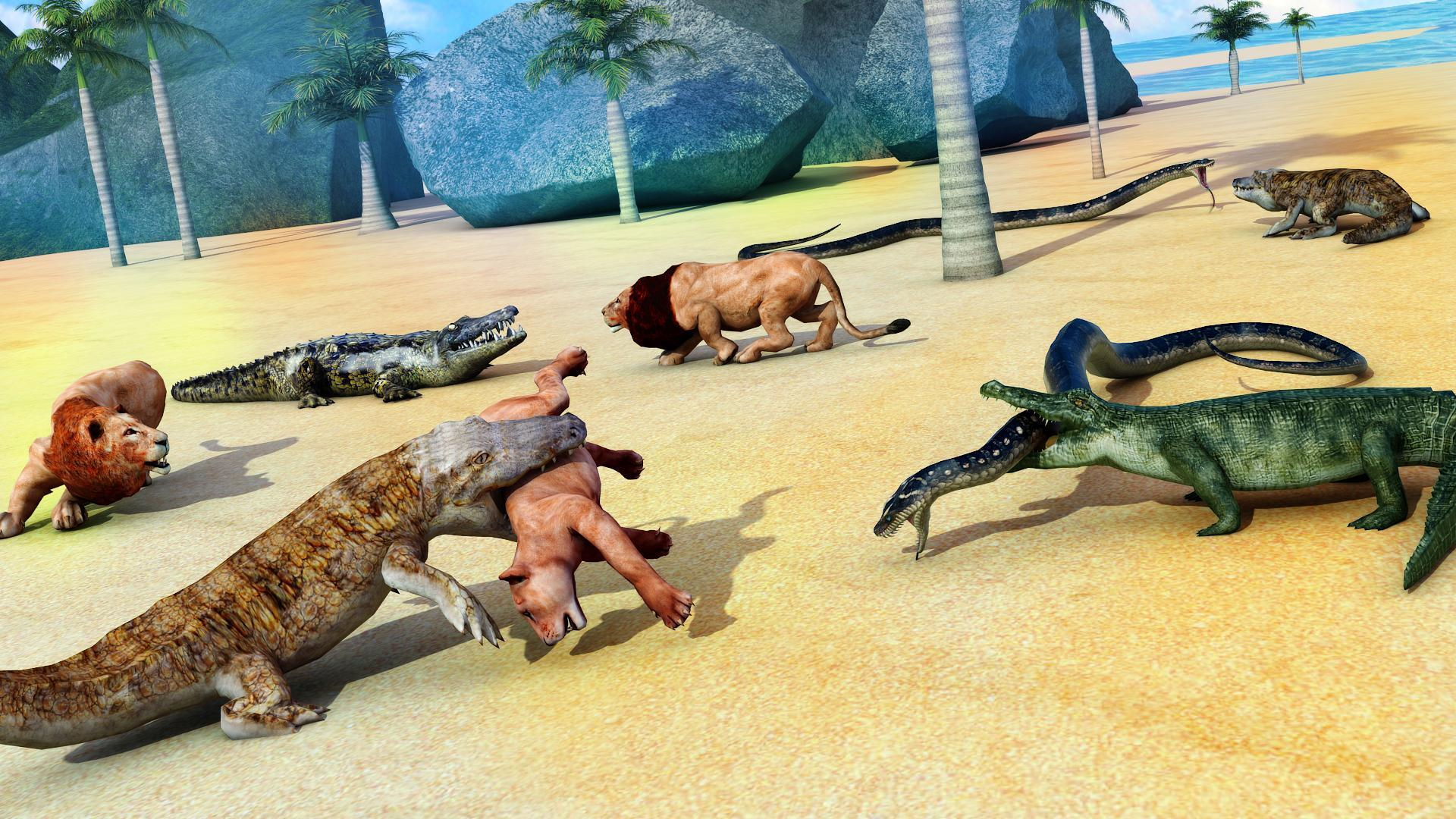 Animal Attack Simulator -Wild Hunting Games 1.0.37 Screenshot 5