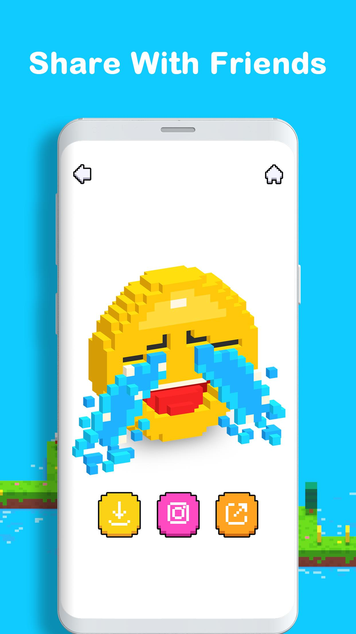 Voxel 3D Color by Number & Pixel Coloring Book 3.0.6 Screenshot 8