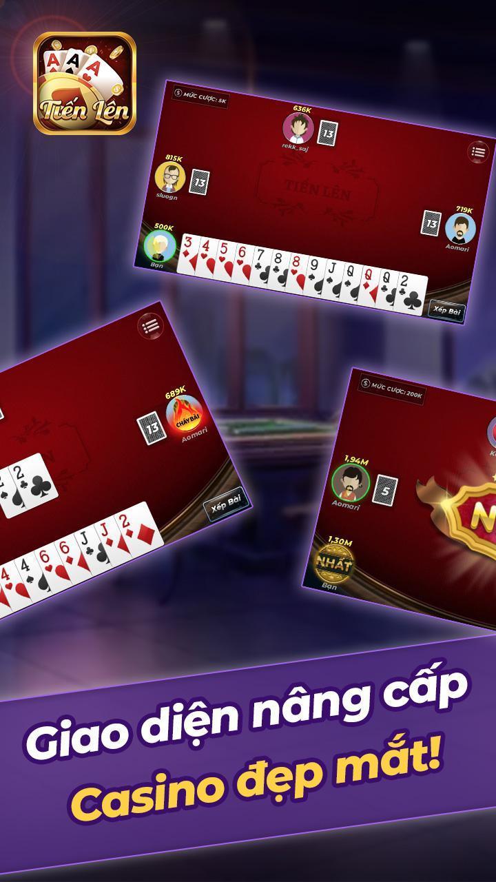 Tien Len Mien Nam Offline 1.11 Screenshot 3