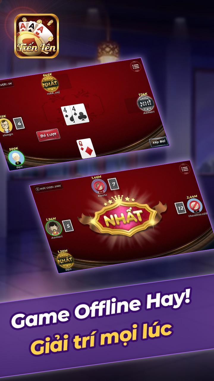 Tien Len Mien Nam Offline 1.11 Screenshot 5