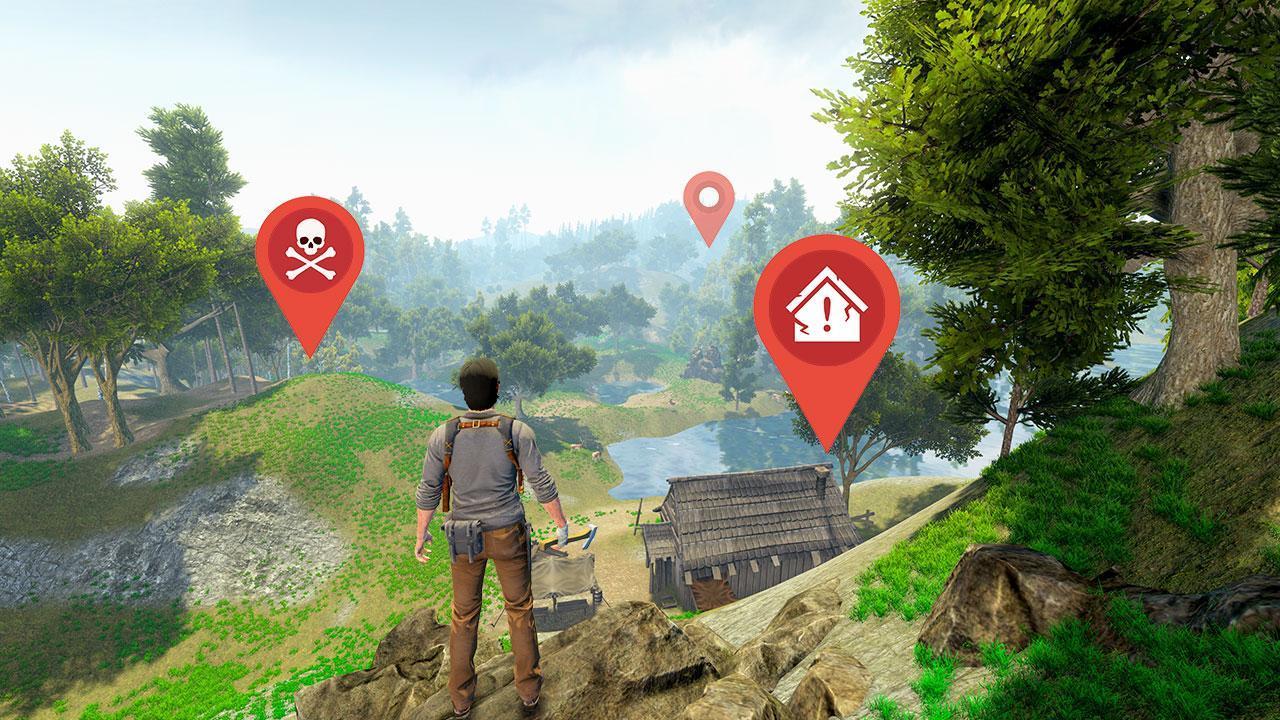 Woodcraft - Survival Island 1.33 Screenshot 4