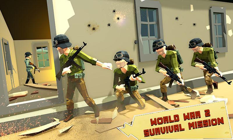 US Army Call of WW2 Battleground World War Games 1.3 Screenshot 1