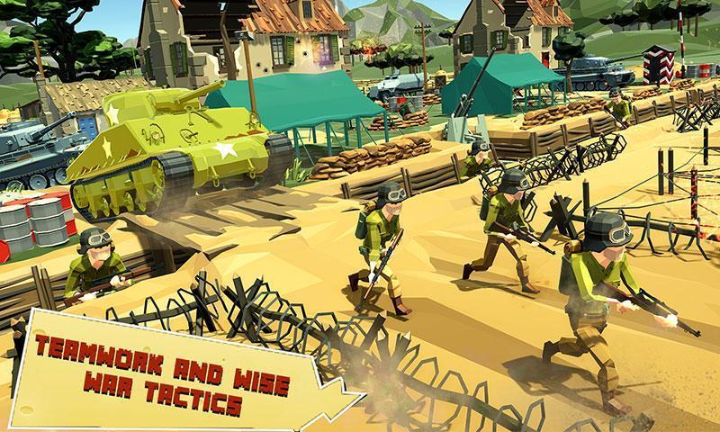 US Army Call of WW2 Battleground World War Games 1.3 Screenshot 2