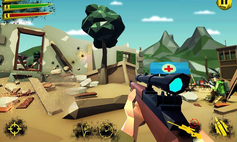 US Army Call of WW2 Battleground World War Games 1.3 Screenshot 3