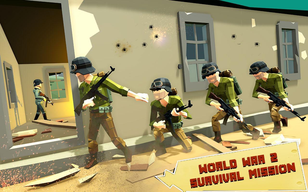 US Army Call of WW2 Battleground World War Games 1.3 Screenshot 6