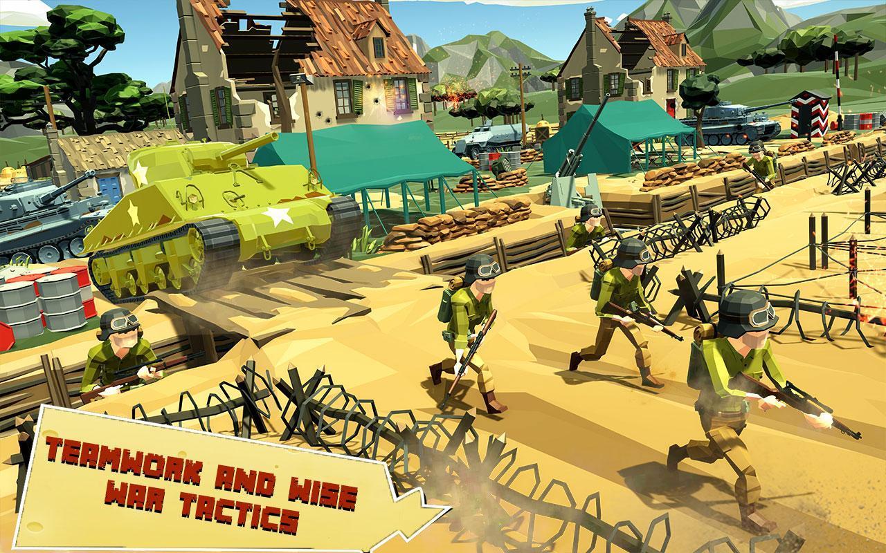 US Army Call of WW2 Battleground World War Games 1.3 Screenshot 7