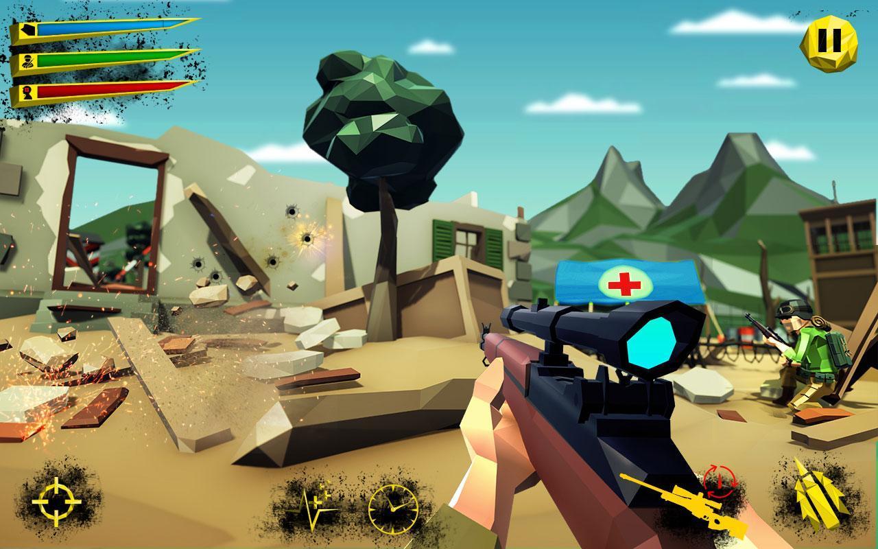 US Army Call of WW2 Battleground World War Games 1.3 Screenshot 8