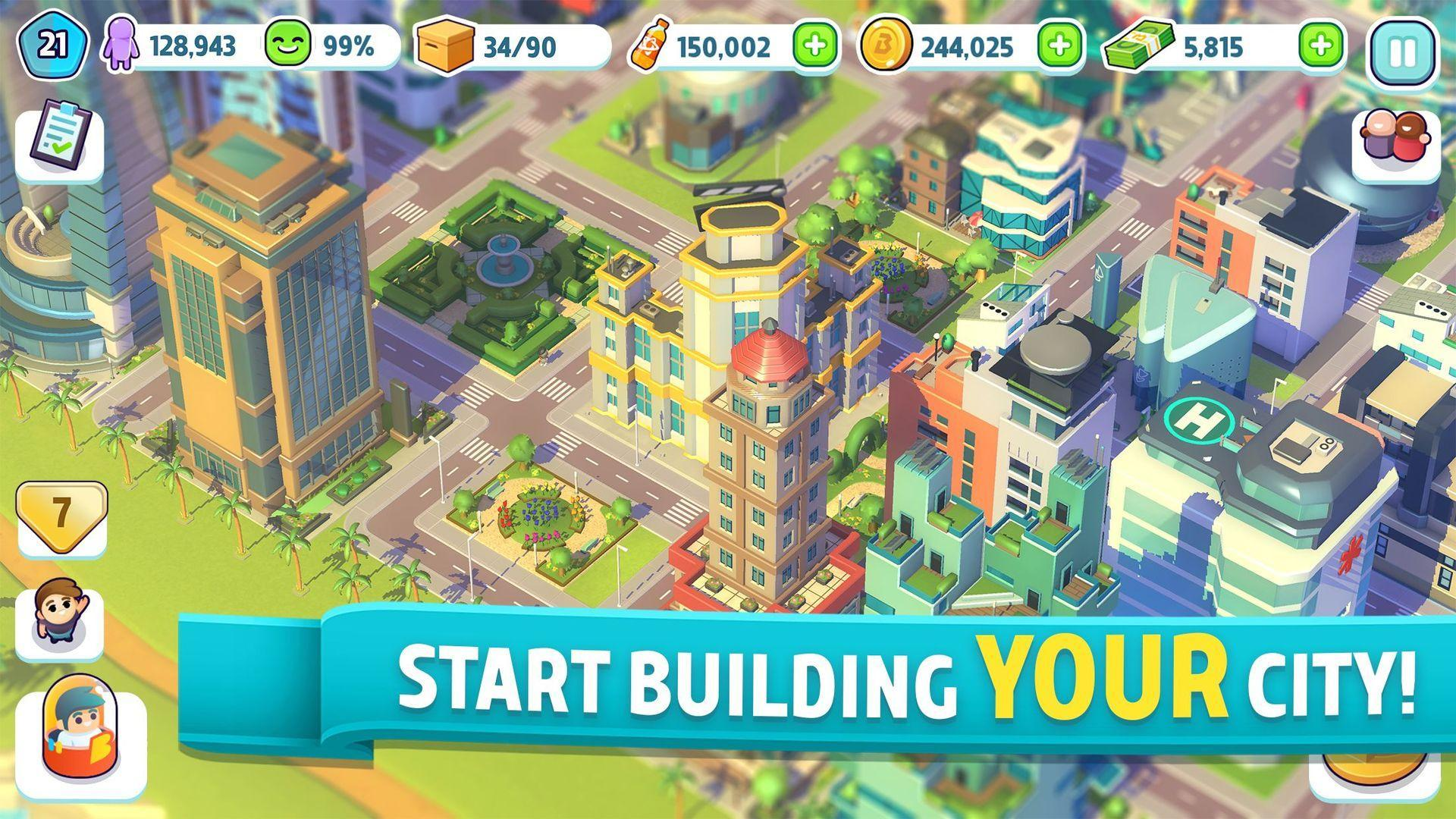 City Mania Town Building Game 1.9.1a Screenshot 1