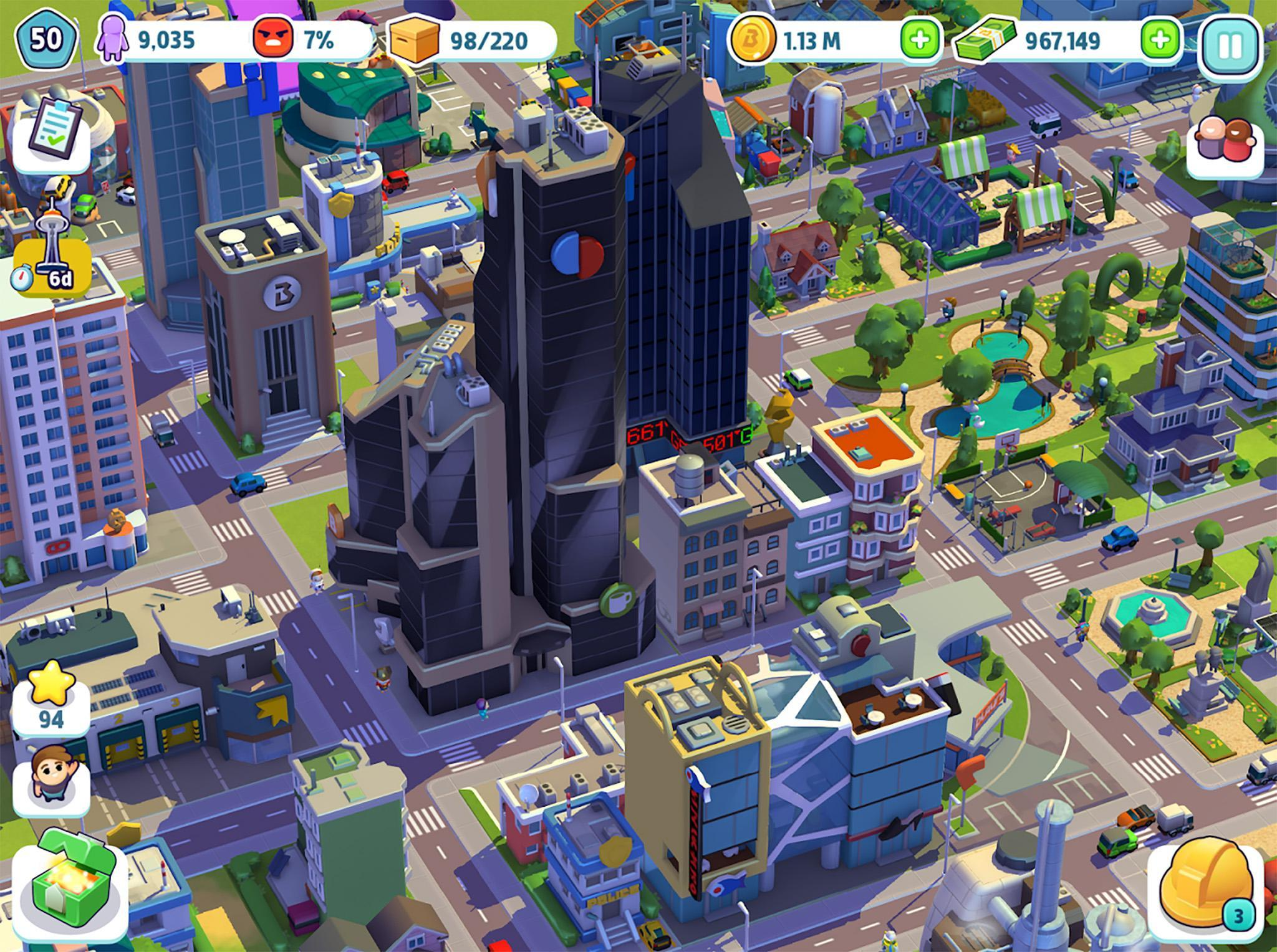 City Mania Town Building Game 1.9.1a Screenshot 18