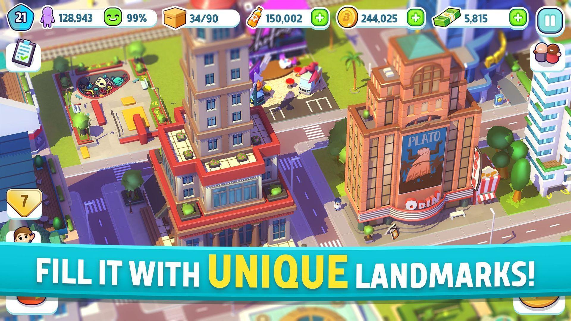 City Mania Town Building Game 1.9.1a Screenshot 2