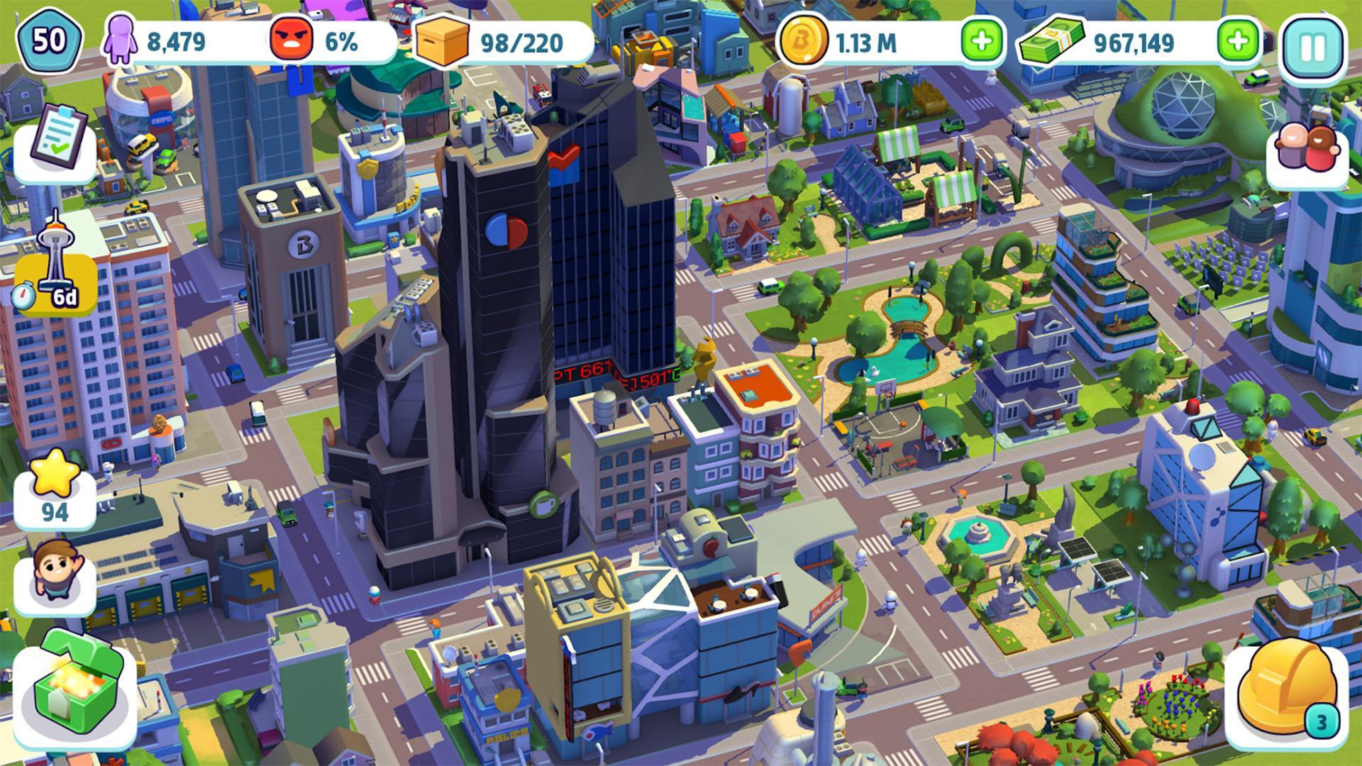 City Mania Town Building Game 1.9.1a Screenshot 6