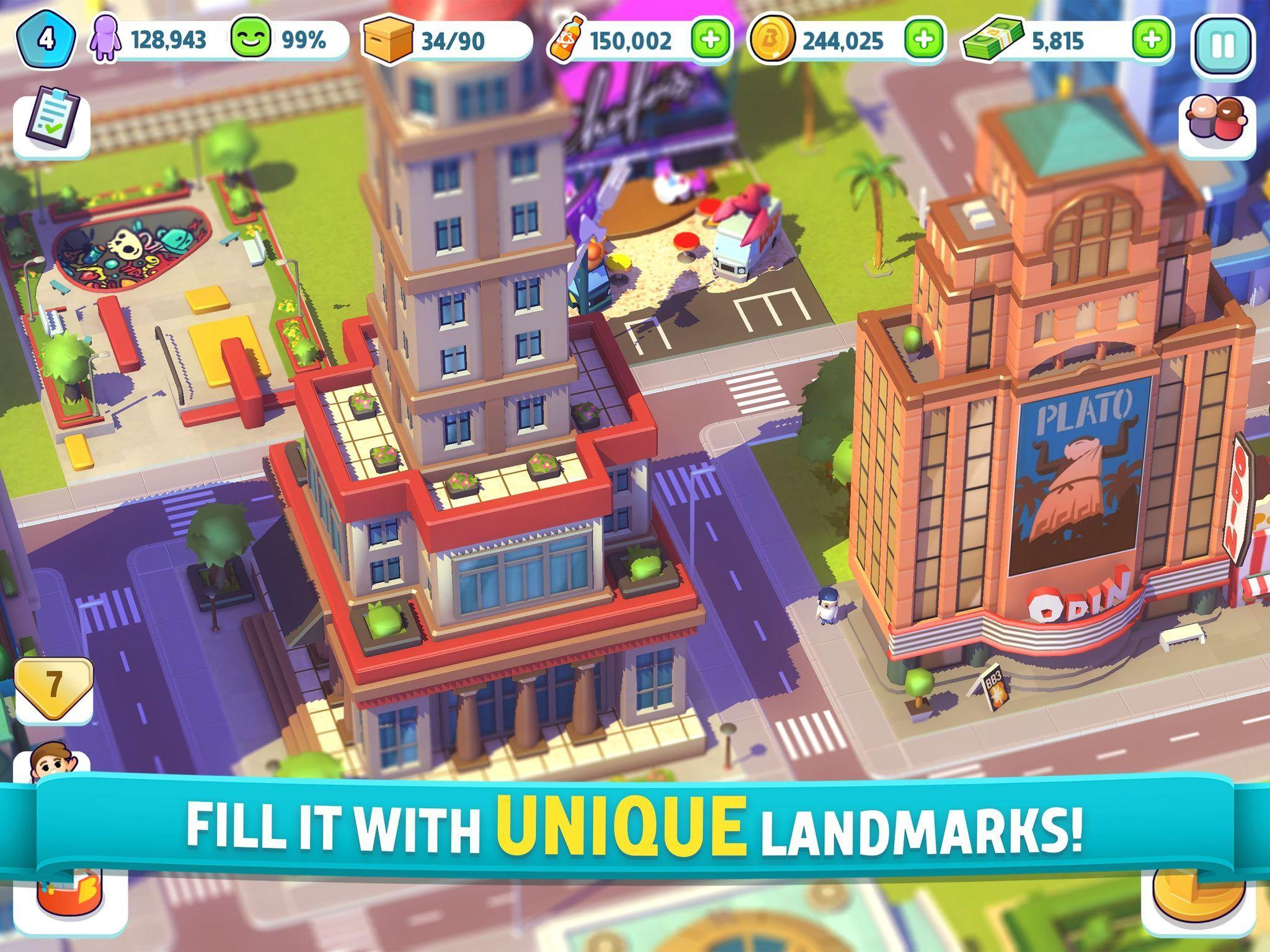 City Mania Town Building Game 1.9.1a Screenshot 8
