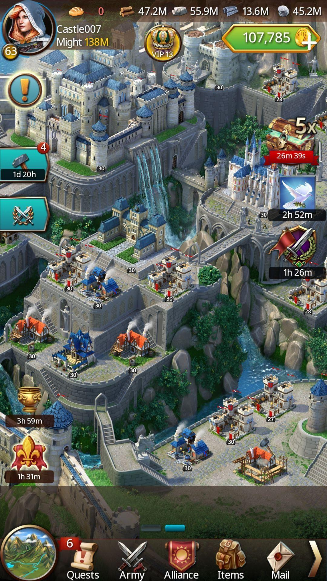 March of Empires: War of Lords 4.5.0j Screenshot 6