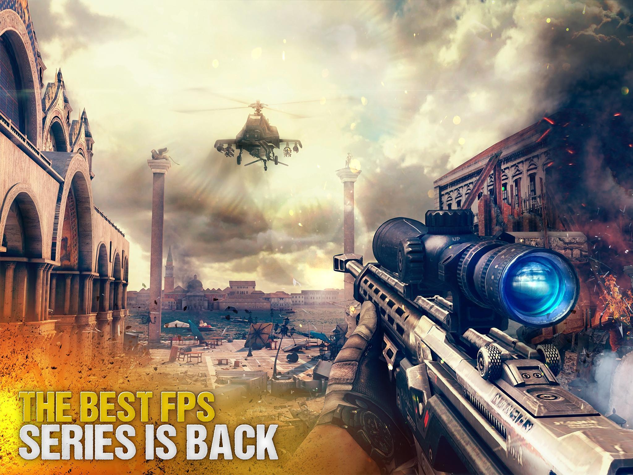 Modern Combat 5 eSports FPS 4.4.3j Screenshot 1