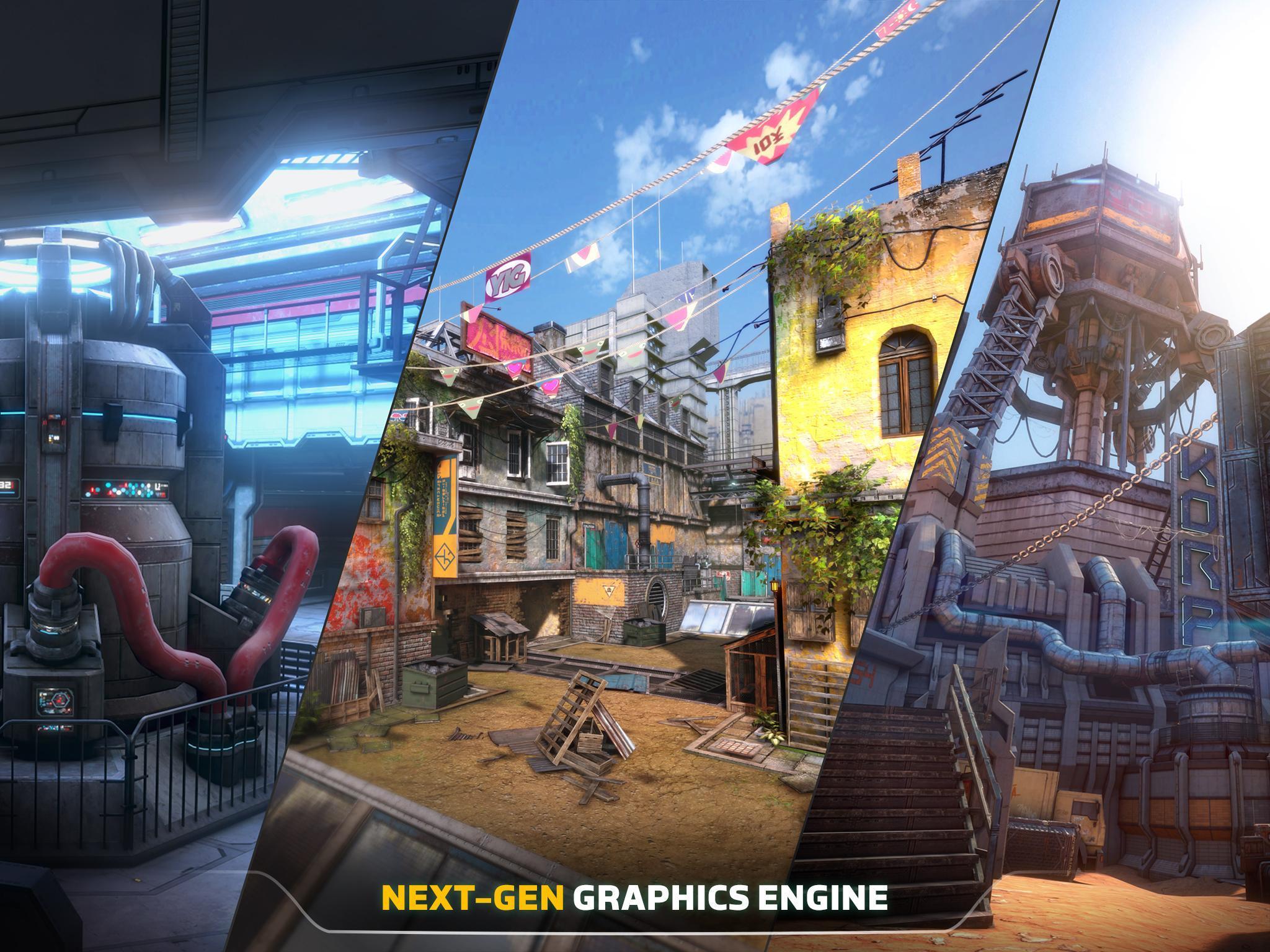 Modern Combat Versus: New Online Multiplayer FPS 1.16.32 Screenshot 10