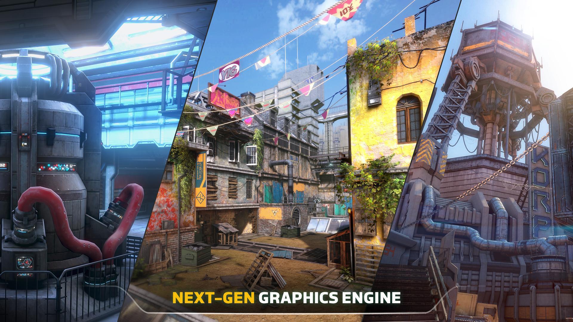 Modern Combat Versus: New Online Multiplayer FPS 1.16.32 Screenshot 4