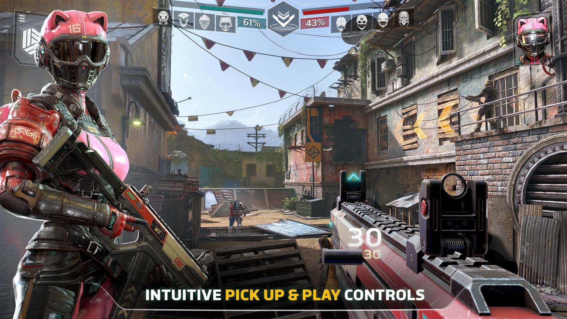 Modern Combat Versus: New Online Multiplayer FPS 1.16.32 Screenshot 5