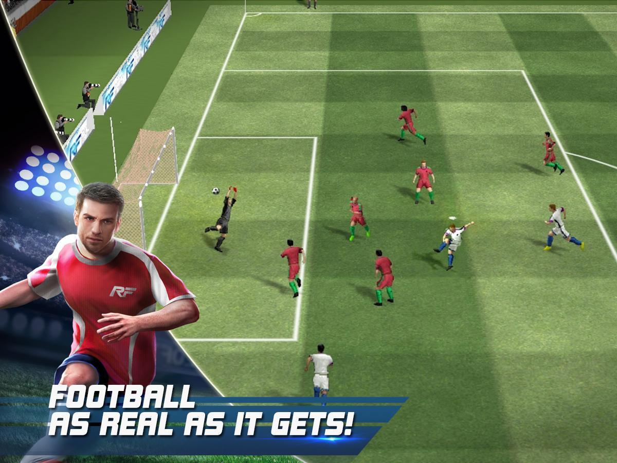 Real Football 1.7.1 Screenshot 1