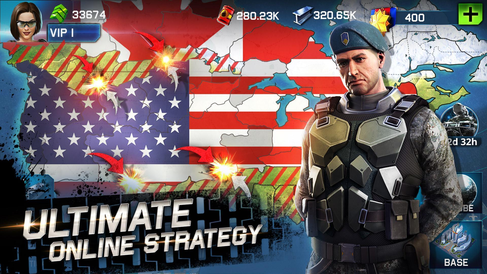 War Planet Online: Global Conquest 2.5.0 Screenshot 1