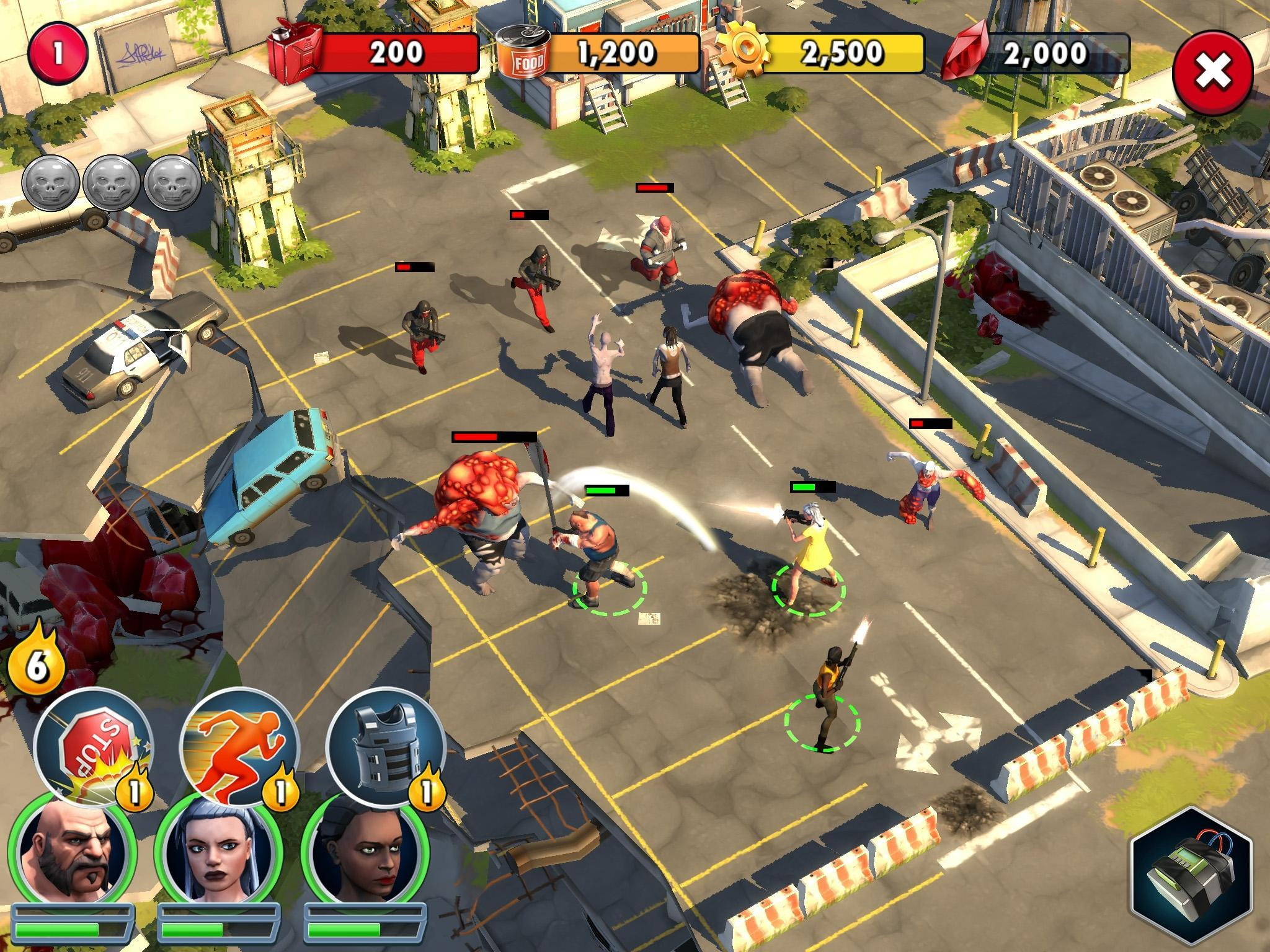 Zombie Anarchy: Survival Strategy Game 1.3.1c Screenshot 12