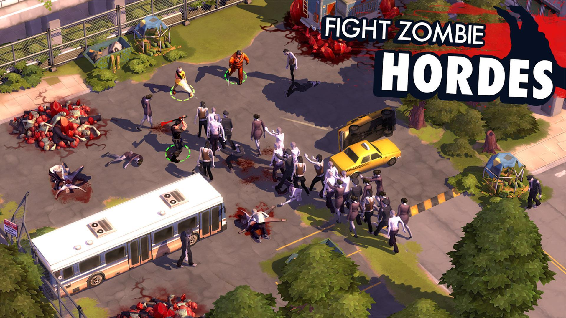 Zombie Anarchy: Survival Strategy Game 1.3.1c Screenshot 2