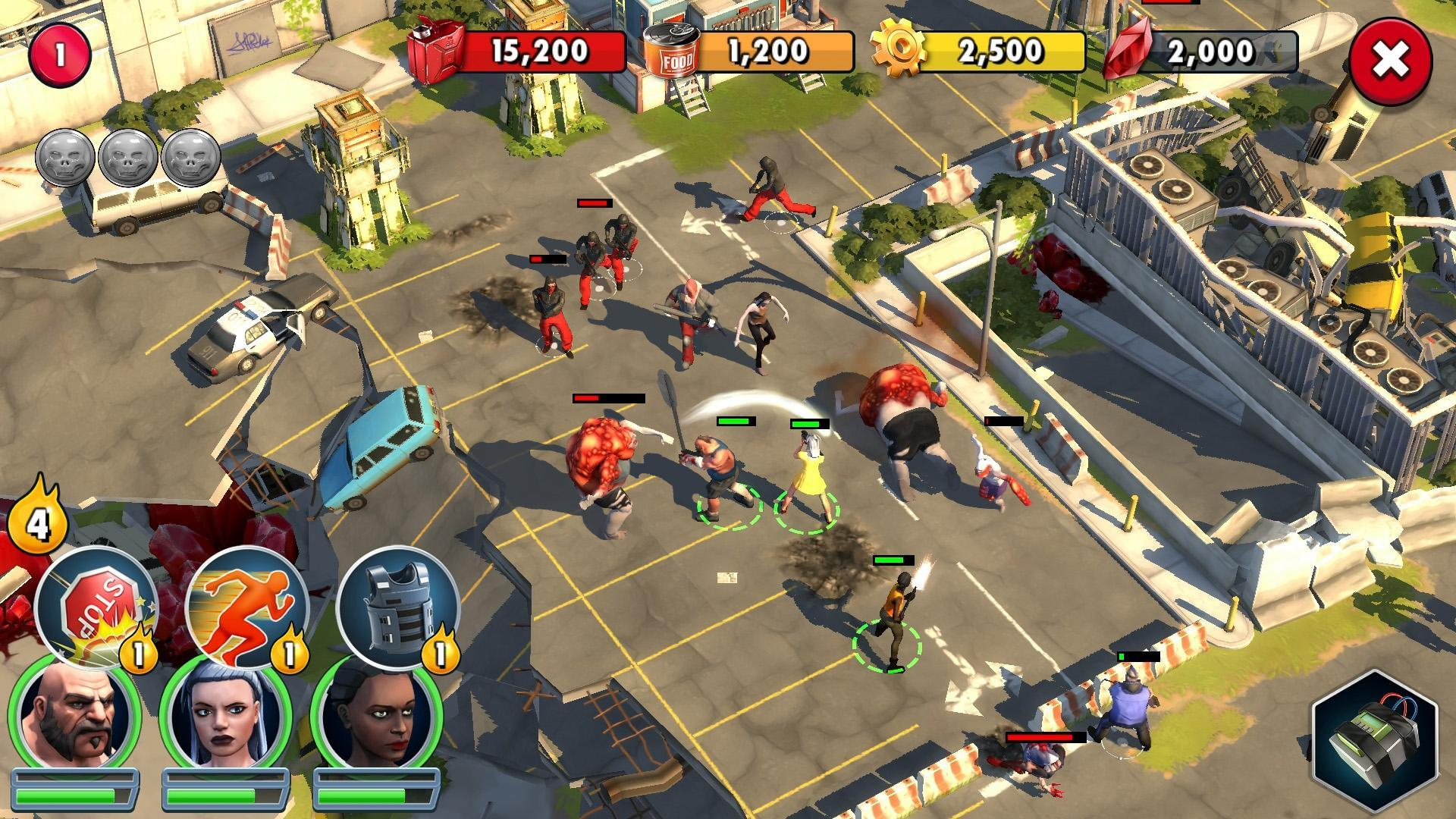 Zombie Anarchy: Survival Strategy Game 1.3.1c Screenshot 6