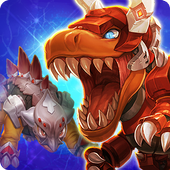 Dino King Tyranno VS Stego app icon