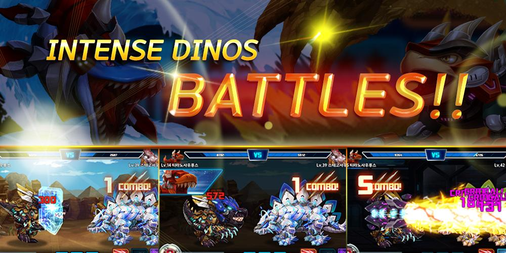 Dino King Tyranno VS Stego 1.7.4 Screenshot 3