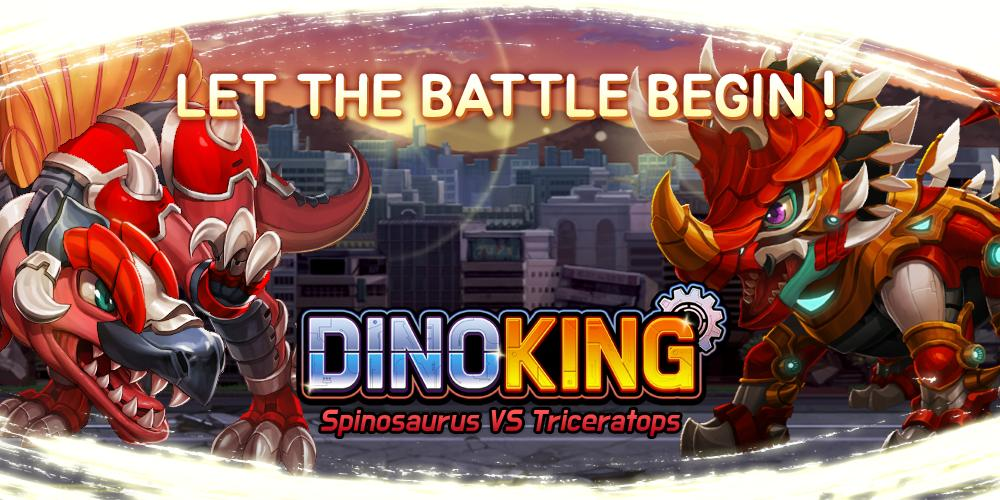 Dino King Spino VS Tricera 0.2.6 Screenshot 1