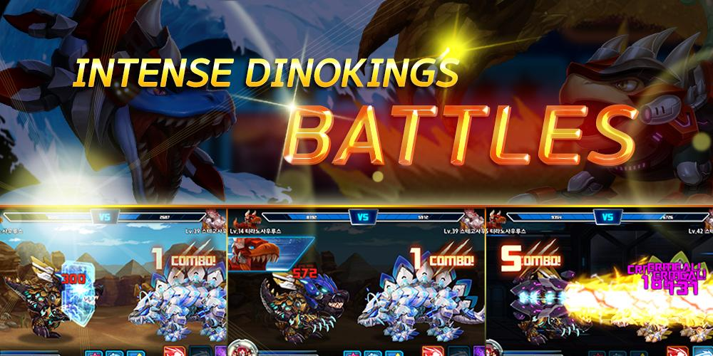 Dino King Spino VS Tricera 0.2.6 Screenshot 3