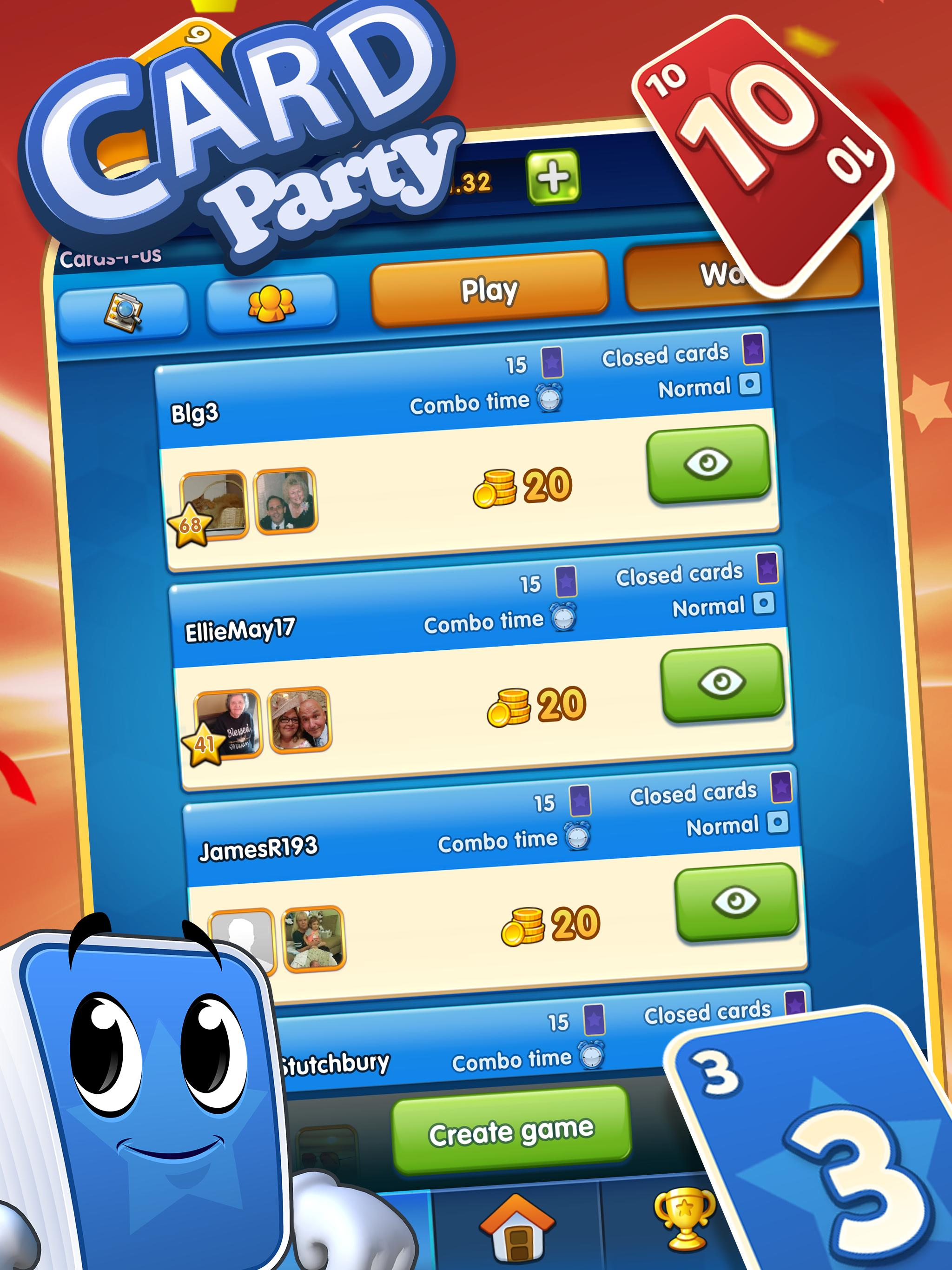 GamePoint CardParty 24357 Screenshot 2
