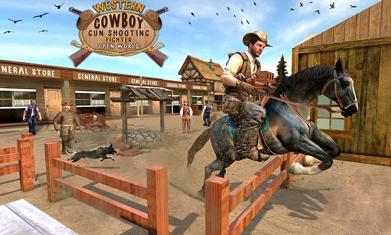 Western Cowboy Gun Shooting Fighter Open World 1.0.6 Screenshot 1