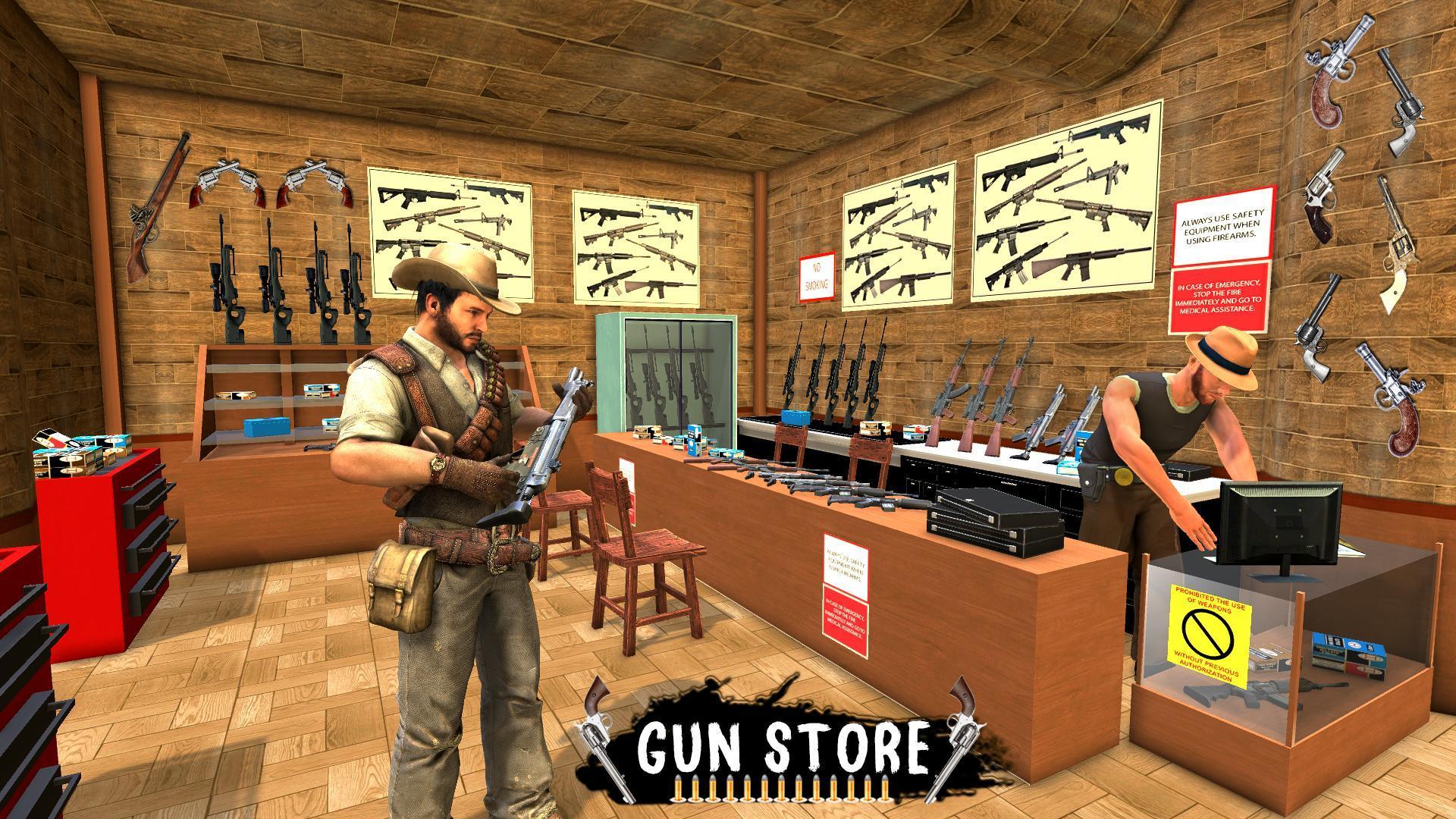 Western Cowboy Gun Shooting Fighter Open World 1.0.6 Screenshot 10