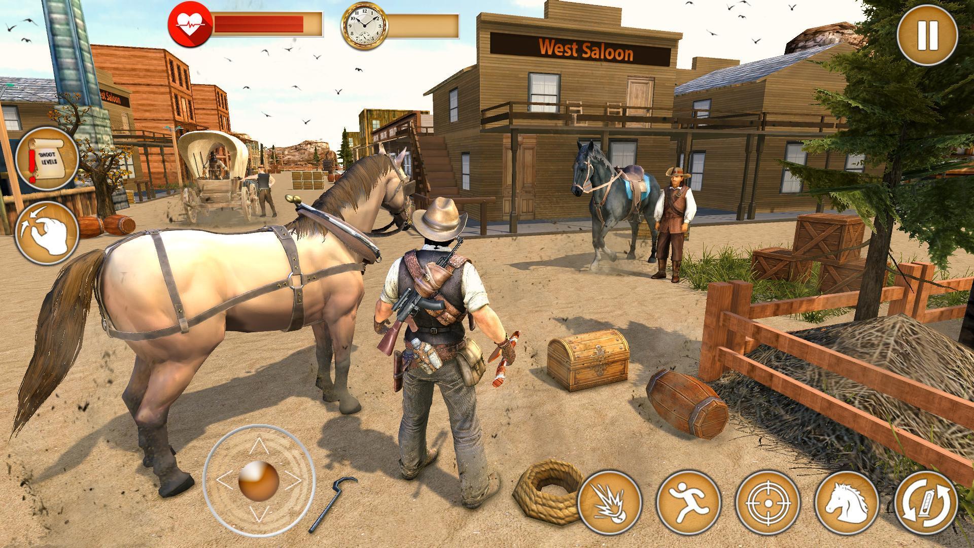 Western Cowboy Gun Shooting Fighter Open World 1.0.6 Screenshot 12
