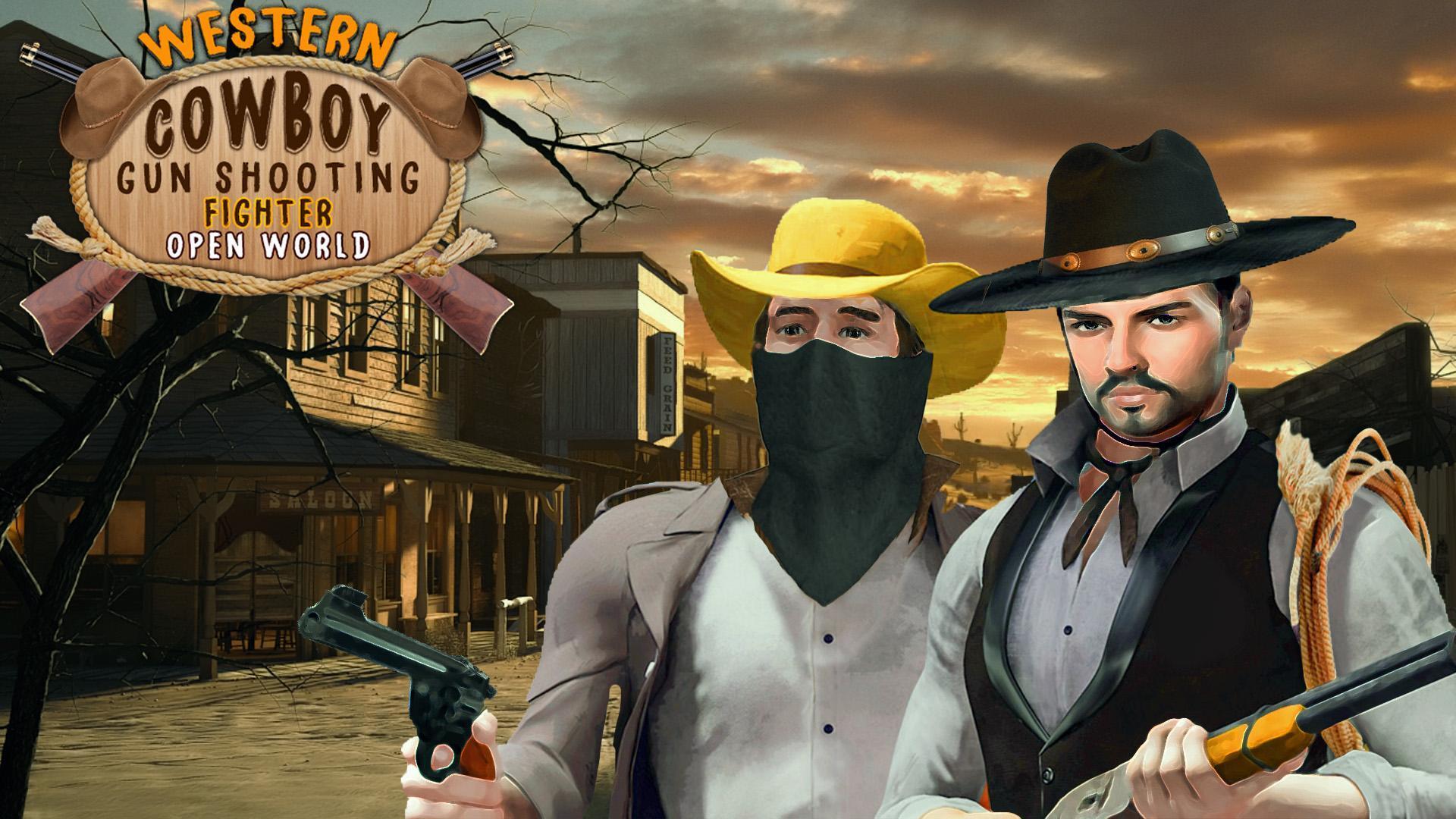Western Cowboy Gun Shooting Fighter Open World 1.0.6 Screenshot 13