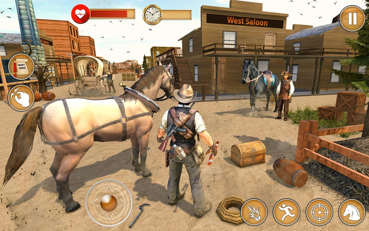 Western Cowboy Gun Shooting Fighter Open World 1.0.6 Screenshot 19