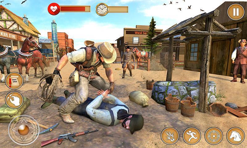 Western Cowboy Gun Shooting Fighter Open World 1.0.6 Screenshot 2